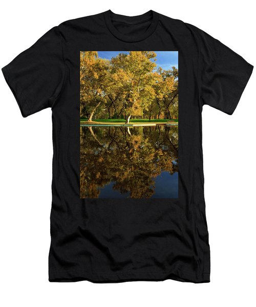 Bidwell Park Reflections Men's T-Shirt (Athletic Fit)