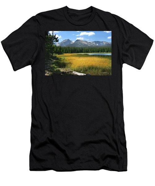Autumn At Bierstadt Lake Men's T-Shirt (Athletic Fit)