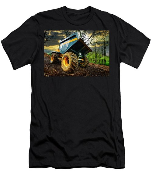 Big Bad Dumper Truck Men's T-Shirt (Athletic Fit)