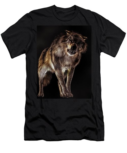 Big Bad Wolf Men's T-Shirt (Athletic Fit)