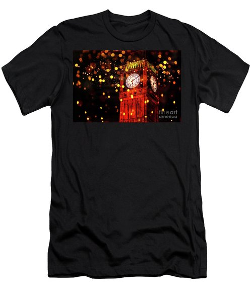 Big Ben Aglow Men's T-Shirt (Athletic Fit)