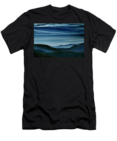 Big Bend At Dusk Men's T-Shirt (Athletic Fit)