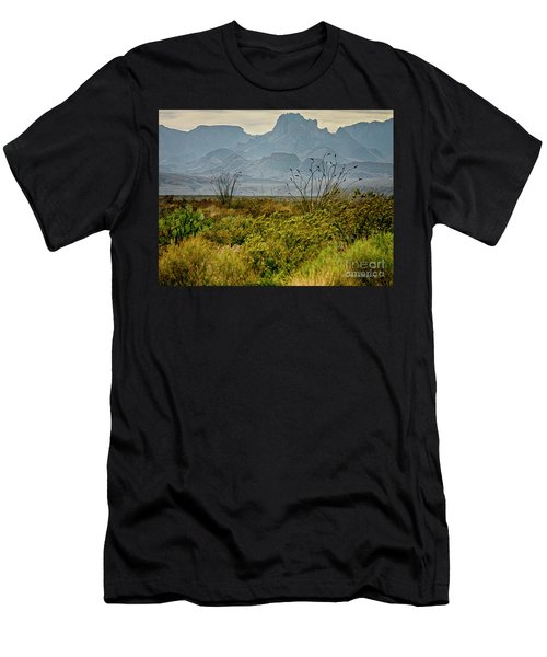 Big Bend Mountains Men's T-Shirt (Athletic Fit)