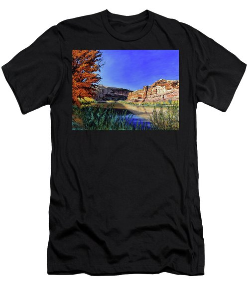 Big Bend On The Colorado Men's T-Shirt (Athletic Fit)