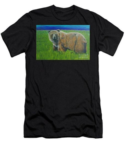 Big Brown Men's T-Shirt (Athletic Fit)