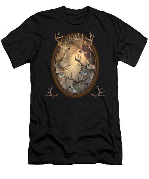 Big Bucks Men's T-Shirt (Athletic Fit)