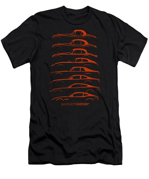 Big Cat Coupe Silhouettehistory Men's T-Shirt (Athletic Fit)