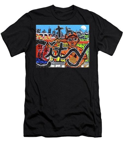 Big Cities Men's T-Shirt (Athletic Fit)