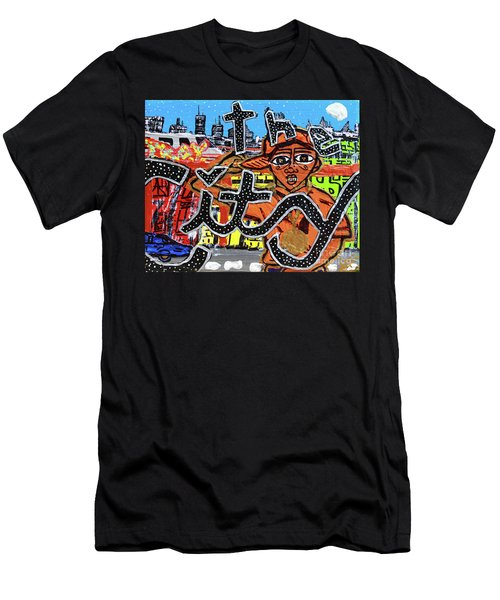 Big Cities Men's T-Shirt (Athletic Fit)