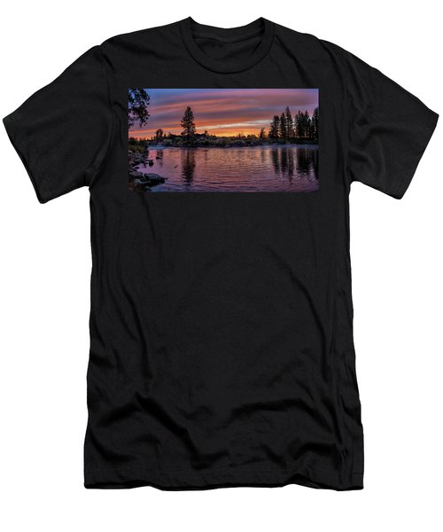 Big Eddy Sunrise Men's T-Shirt (Athletic Fit)