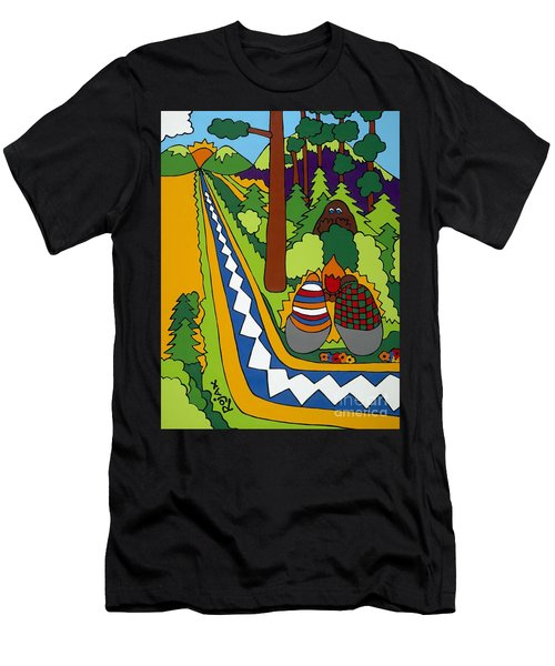Big Foot Men's T-Shirt (Athletic Fit)