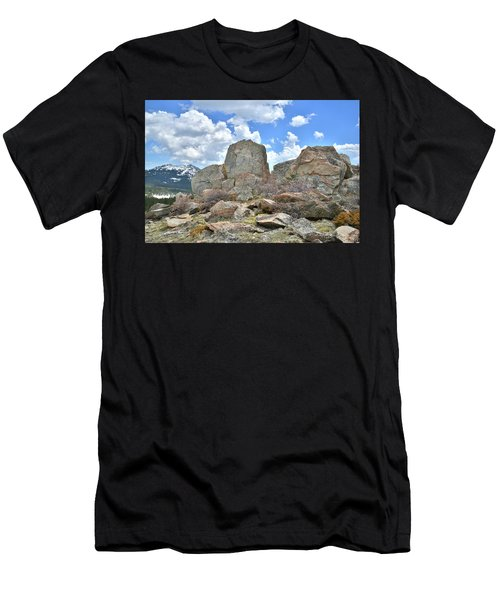 Big Horn Mountains In Wyoming Men's T-Shirt (Athletic Fit)