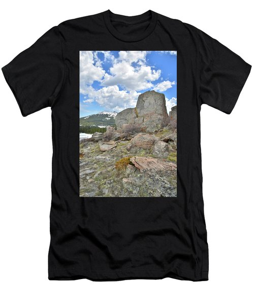 Big Horn Pass Rock Croppings Men's T-Shirt (Athletic Fit)