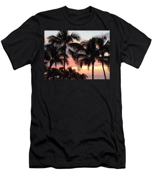 Big Island Sunset 1 Men's T-Shirt (Athletic Fit)