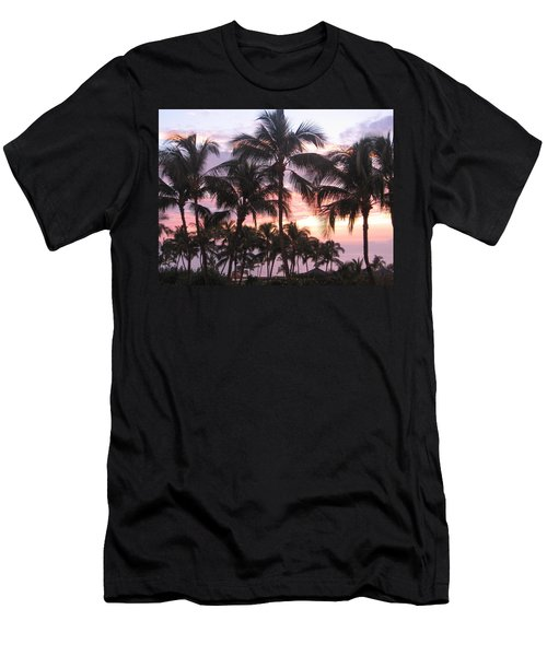 Big Island Sunset 3 Men's T-Shirt (Athletic Fit)