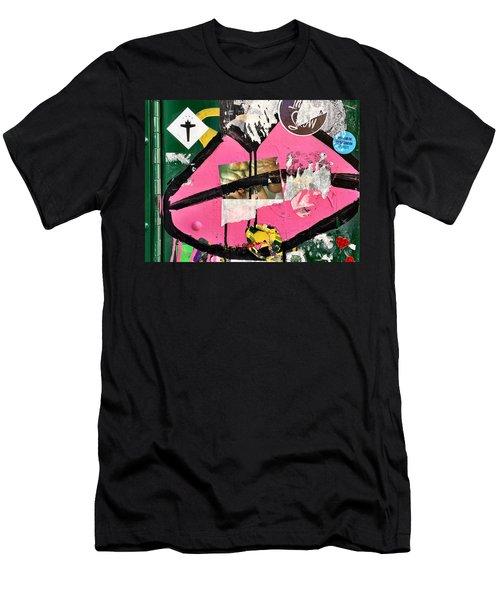 Big Kiss Men's T-Shirt (Athletic Fit)
