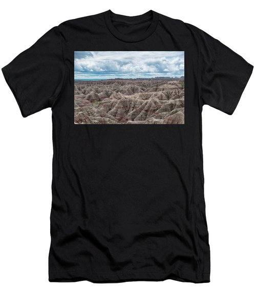 Big Overlook Badlands National Park  Men's T-Shirt (Athletic Fit)