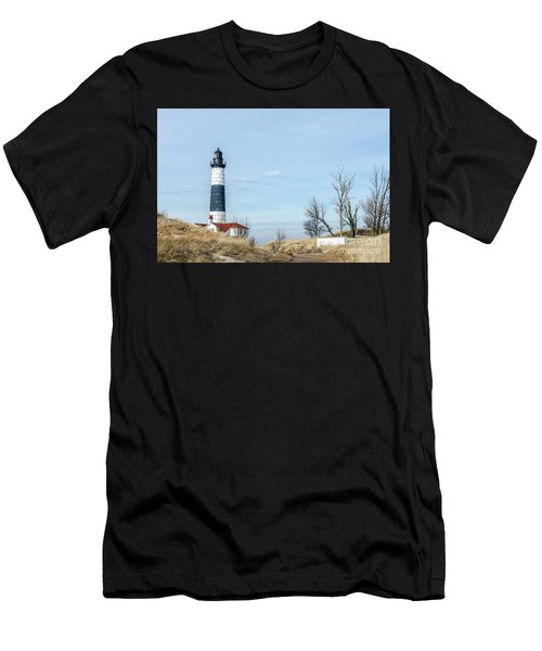 Big Sable Point Lighthouse And Tower Men's T-Shirt (Athletic Fit)