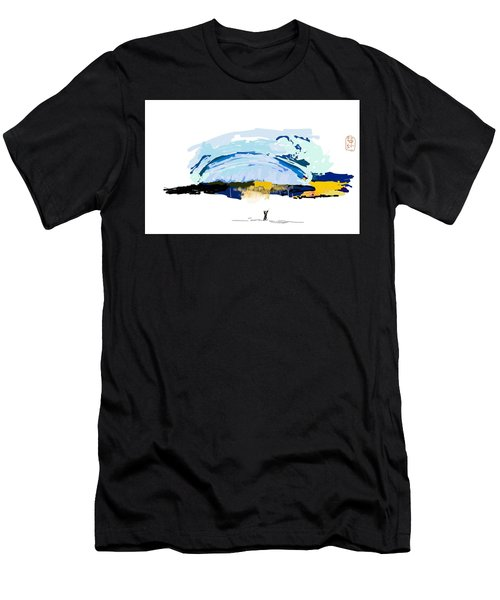 Big Storm Coming Men's T-Shirt (Athletic Fit)