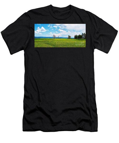 Big Summit Prairie In Bloom Men's T-Shirt (Athletic Fit)