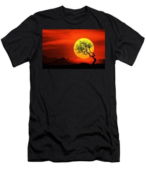 Big Sunset Men's T-Shirt (Athletic Fit)