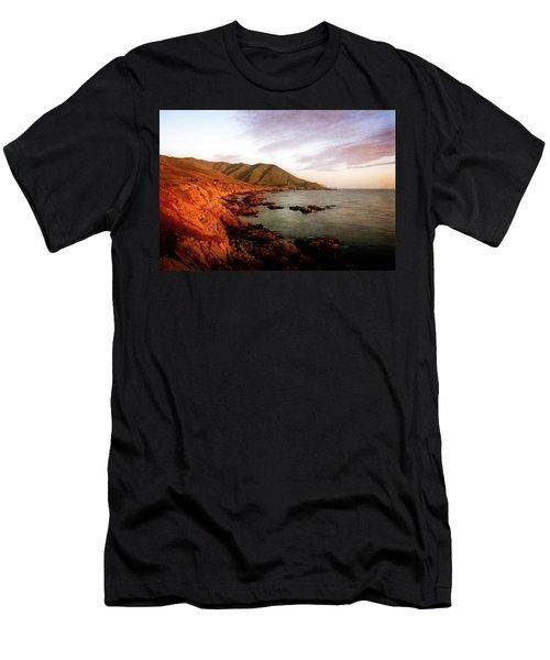 Men's T-Shirt (Athletic Fit) featuring the photograph Big Sur by Scott Kemper