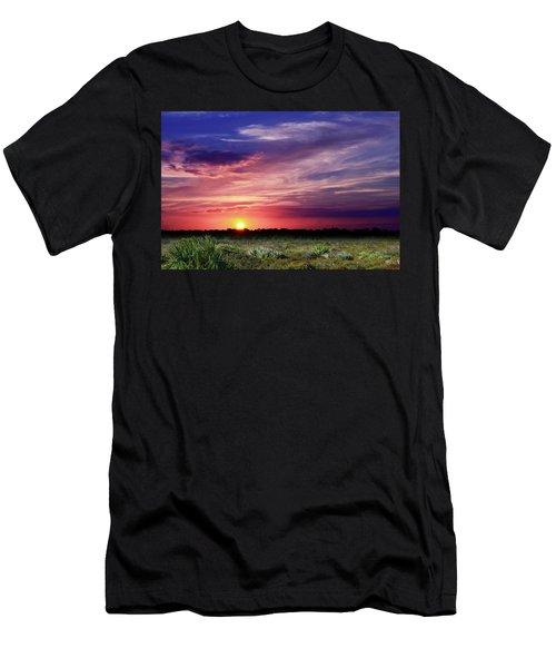 Big Texas Sky Men's T-Shirt (Athletic Fit)