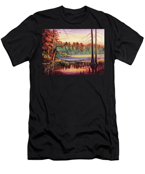 Big Thicket Swamp Men's T-Shirt (Athletic Fit)