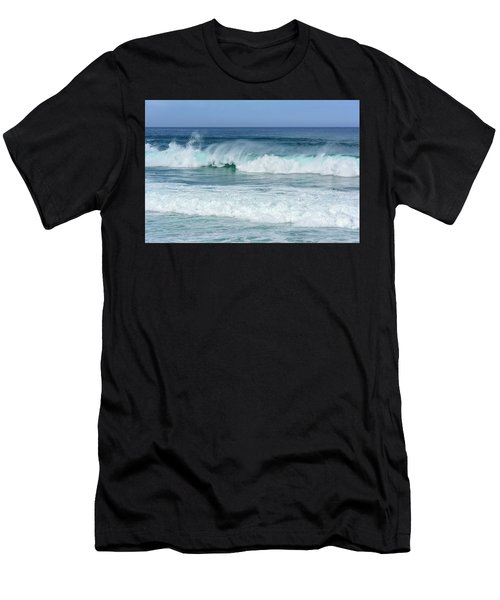 Big Waves Men's T-Shirt (Athletic Fit)