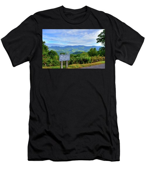 Big Witch Men's T-Shirt (Athletic Fit)