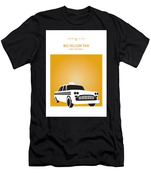 Big Yellow Taxi -- Joni Michel Men's T-Shirt (Athletic Fit)