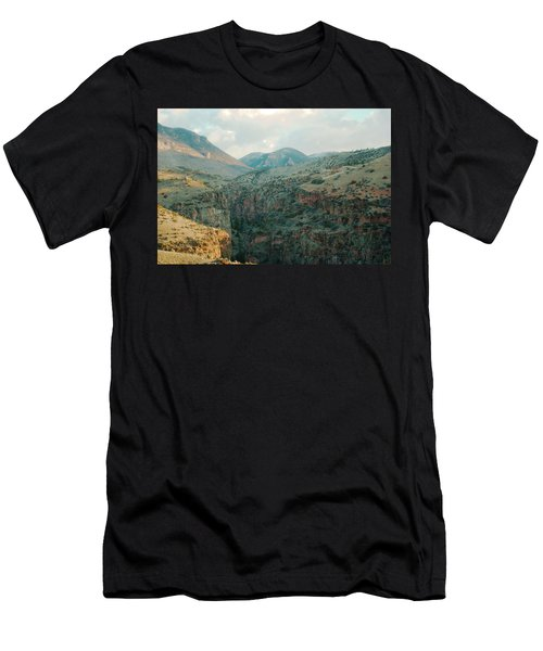 Bighorn National Forest Men's T-Shirt (Athletic Fit)