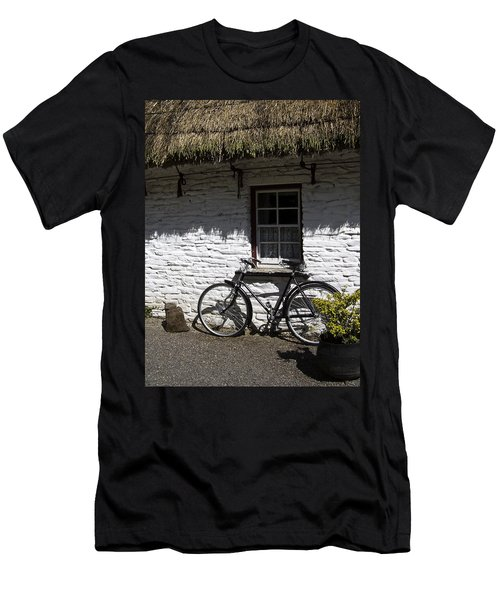 Bike At The Window County Clare Ireland Men's T-Shirt (Athletic Fit)