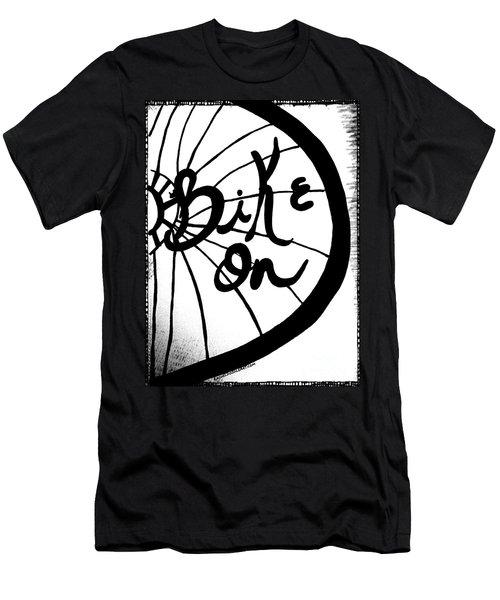 Bike On Men's T-Shirt (Athletic Fit)