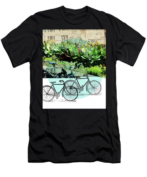 Bike Poster Men's T-Shirt (Athletic Fit)