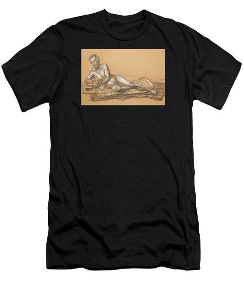 Bill Reclining Men's T-Shirt (Athletic Fit)