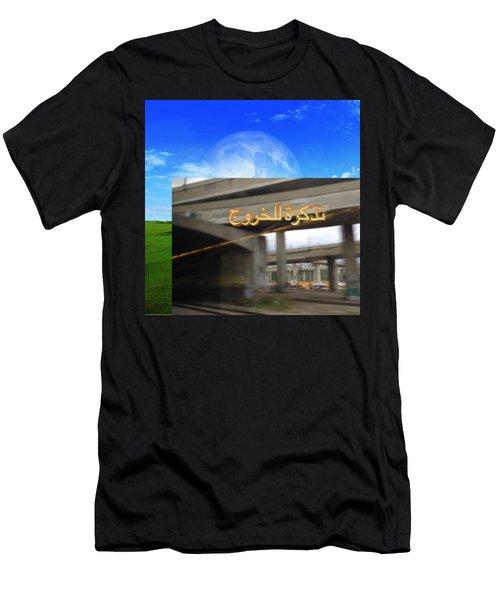 Billet De Sortie Men's T-Shirt (Athletic Fit)