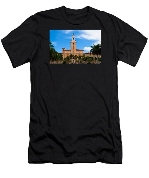 Men's T-Shirt (Slim Fit) featuring the photograph Biltmore Hotel by Ed Gleichman