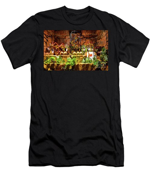 Biltmore Wine Men's T-Shirt (Slim Fit) by Savannah Gibbs