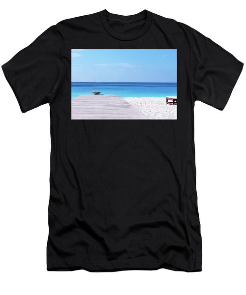 Bimini Beach Club Men's T-Shirt (Athletic Fit)