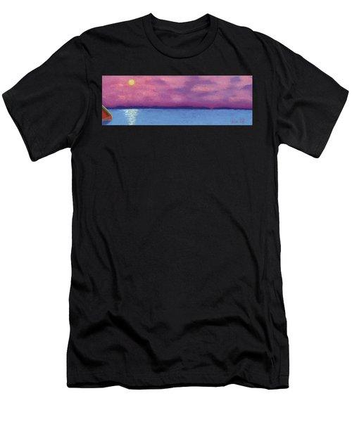 Bimini Sunrise Men's T-Shirt (Athletic Fit)