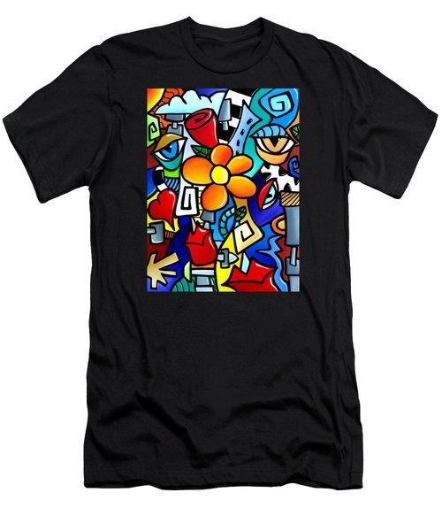 Biomechanical Love Men's T-Shirt (Athletic Fit)