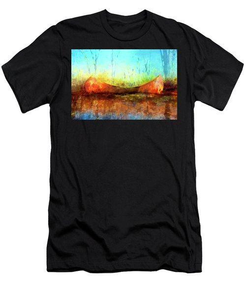 Birch Bark Canoe Men's T-Shirt (Athletic Fit)