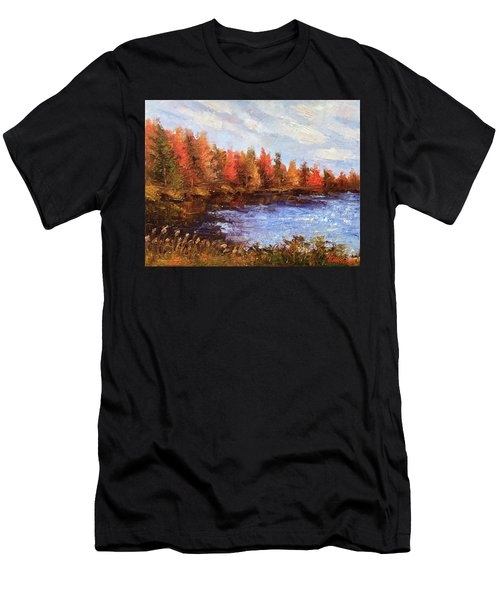 Birchwood Lake Men's T-Shirt (Athletic Fit)