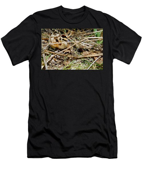 Bird Banding - Woodcock Men's T-Shirt (Athletic Fit)