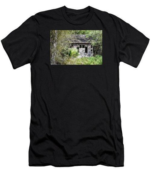 Bird Blind At Frontera Audubon Men's T-Shirt (Athletic Fit)