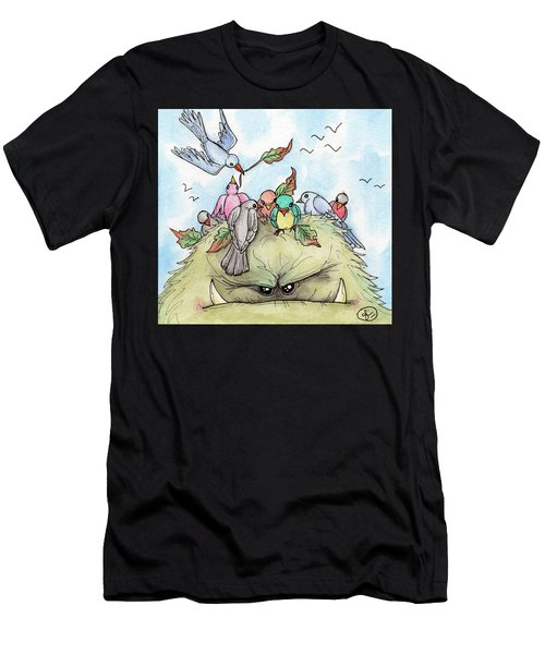 Bird Brained Men's T-Shirt (Athletic Fit)