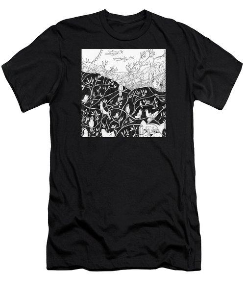 Bird Convention Men's T-Shirt (Slim Fit)