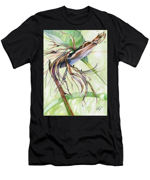 Bird Of Paradise, A Faded Beauty Men's T-Shirt (Athletic Fit)