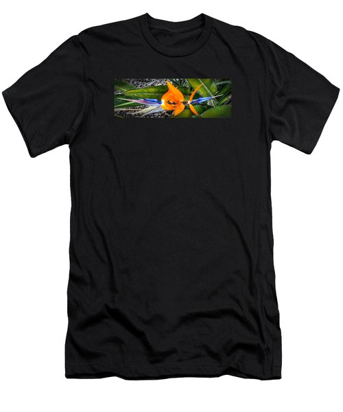 Bird Of Paradise Men's T-Shirt (Athletic Fit)